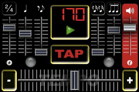 Virtual Métronome pour iPhone