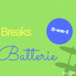 Des breaks de batterie 3-en-1