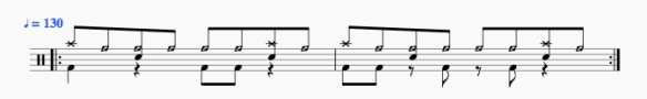 Rythme du refrain de Song 2 - Blur