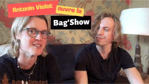 Antonin ouvre la Bagshow