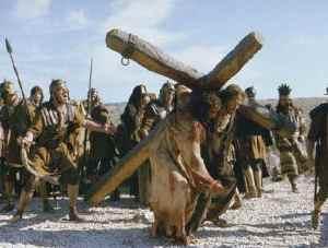Исус Христос по пътя към Голгота