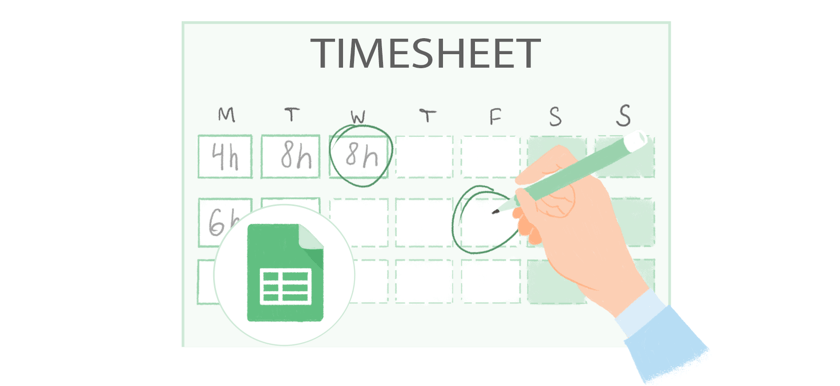 Sds stands for safety data sheet. Free Timesheet Template In Google Sheets By Everhour 2021 Update