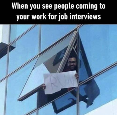 면접 날 창밖도 유심히 보셔야 합니다.