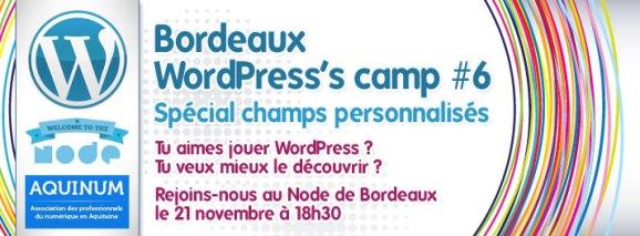 Bordeaux WordPress's camp #6