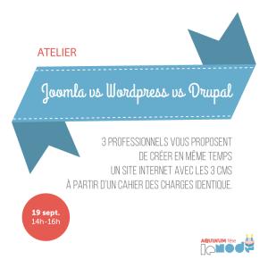 aquinum Joomla vs Drupal vs Joomla