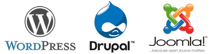 battle WordPress Joomla Drupal