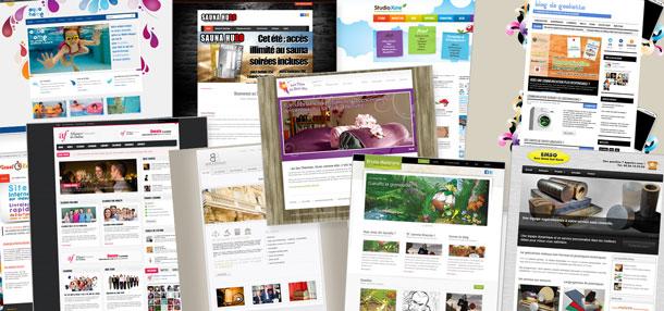 quelques sites internet créés par la Société Studioxine