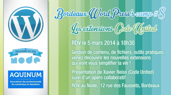 Bordeaux WordPress - StudioXine Rashel Réguigne - Le Node