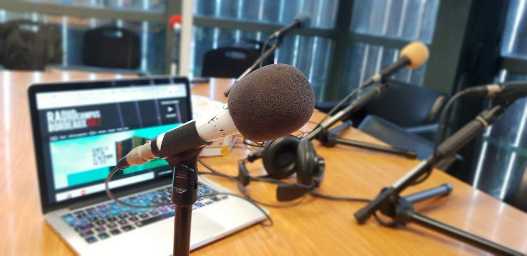 Chronique geek au micro de Radio Campus Bordeaux