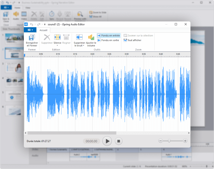 Enregistreur audio iSpring Suite