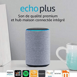 Echo Plus gris chiné