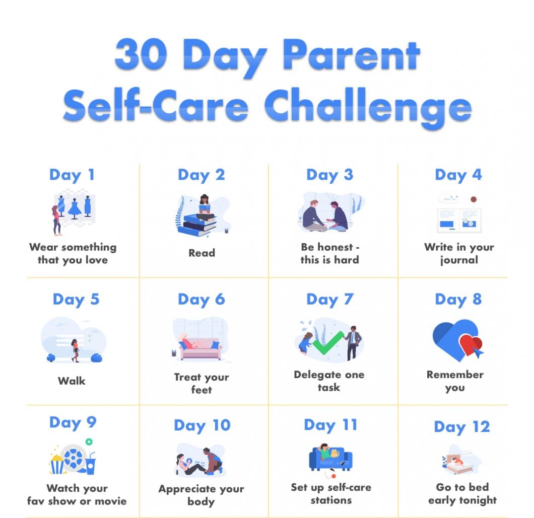 Introducing Our New Parent Self Care Challenge Fabulous