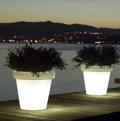 Les Luminaires Extrieurs Pot Lumineux Bloom Blog