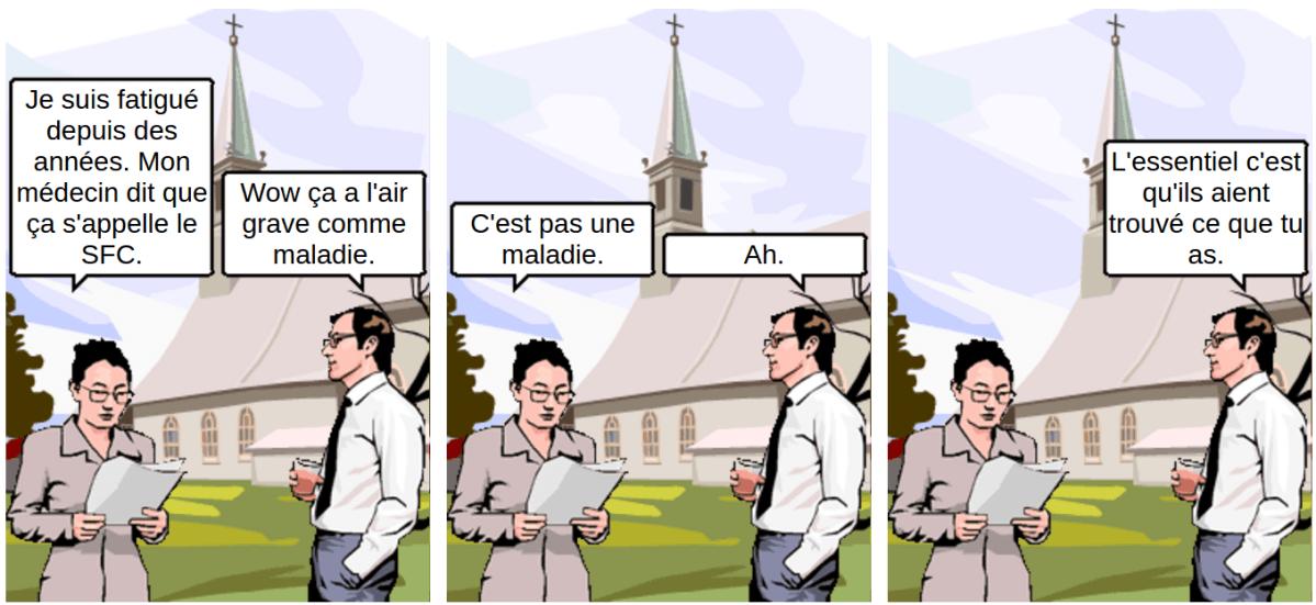 SFC pas maladie - comic