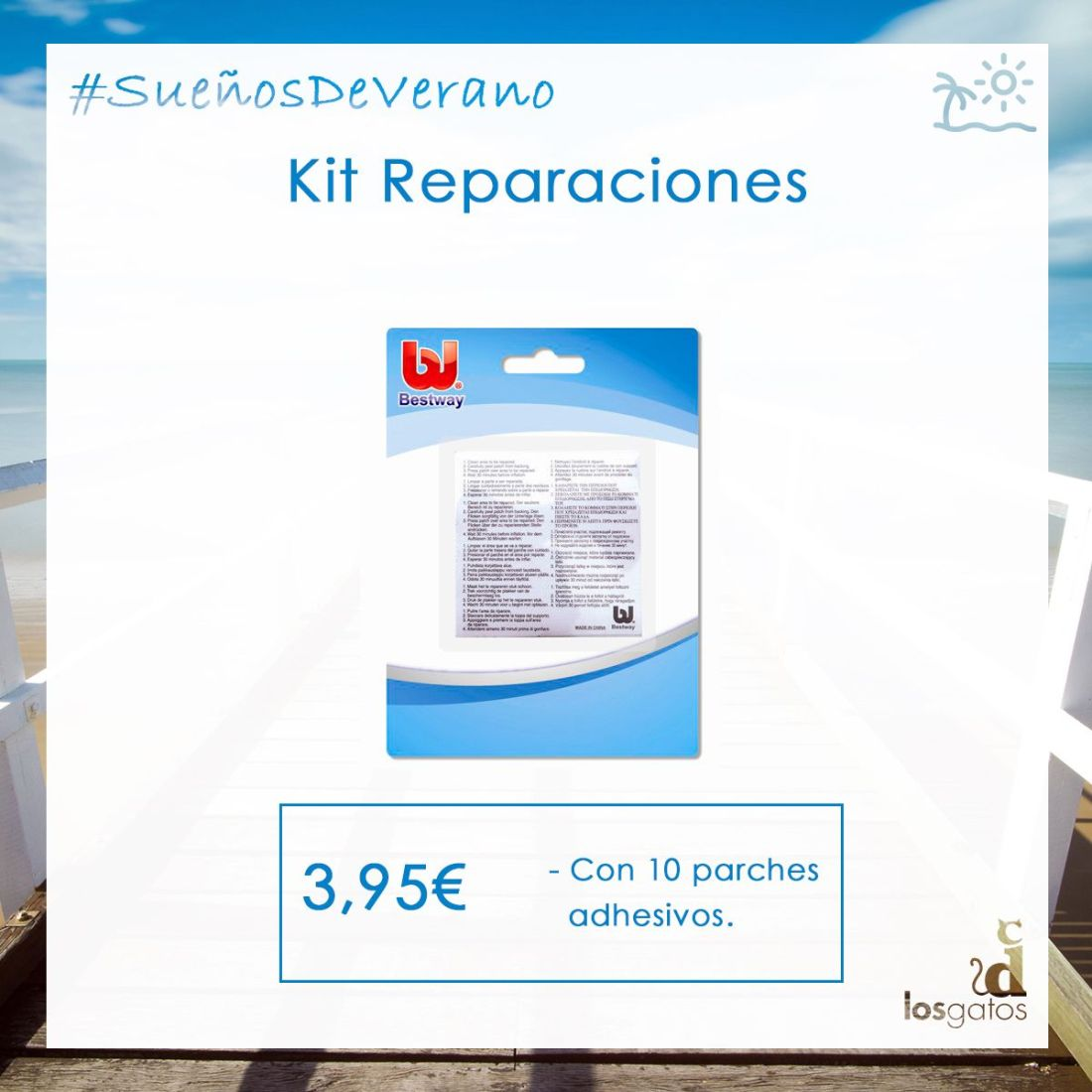 Kit reparaciones piscinas