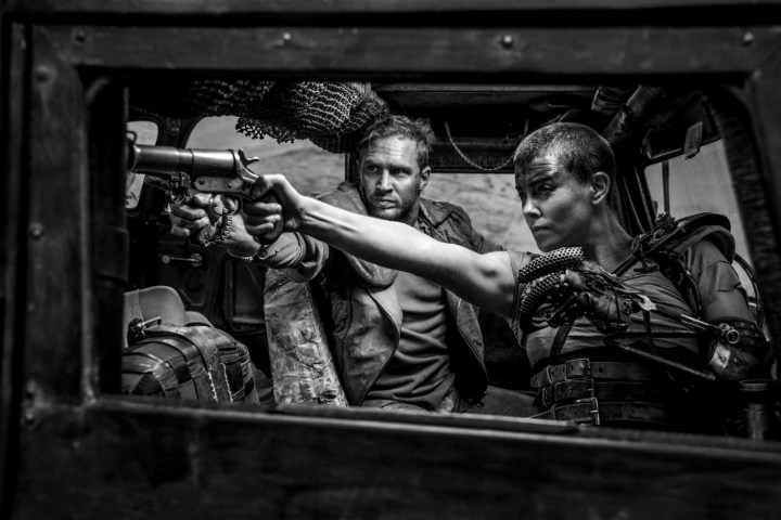 Mad Max Fury Road Black & Chrome Tom Hardy Charlize Theron