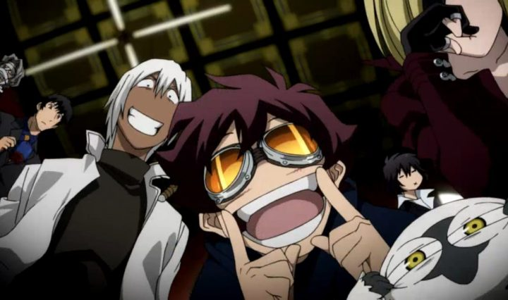 Blood Blockade Battlefront Animeserie Review NETFLIX