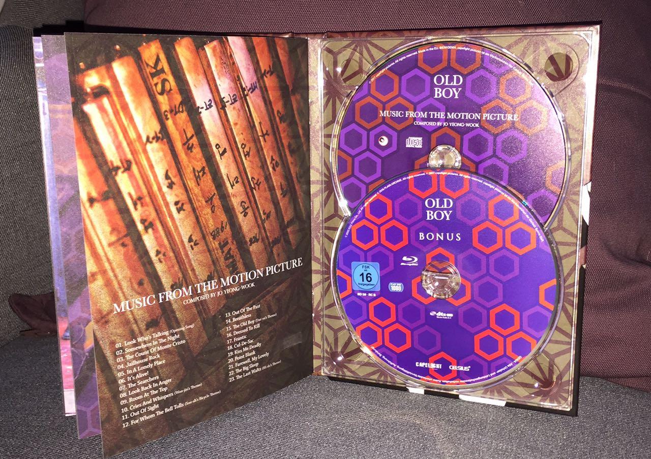 Oldboy Ultimate Edition Blu-ray Capelight