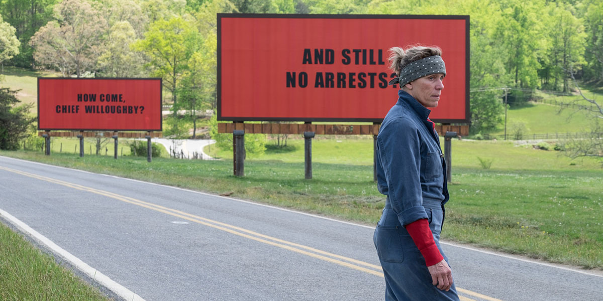 Three Billboards Outside Ebbing, Missouri Frances McDormand