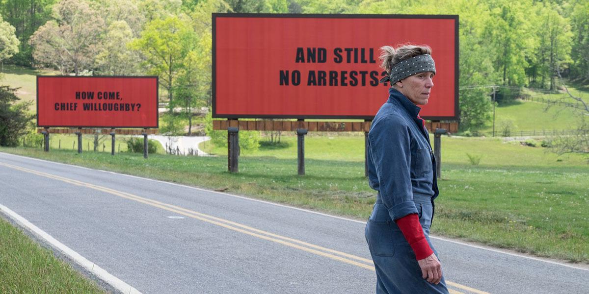 Three Billboards Outside Ebbing, Missouri Frances McDormand
