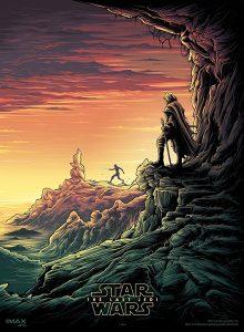 Star Wars die letzten Jedi IMAX Poster