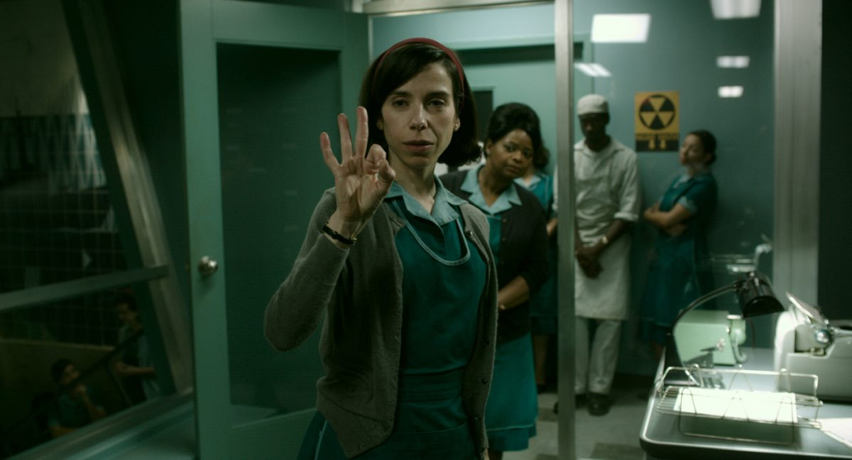 The Shape of Water Sally Hawkins