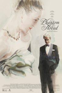 Der seiden Faden Phantom Thread Kinoplakat