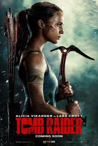Tomb Raider Kinoposter Alicia Vikander