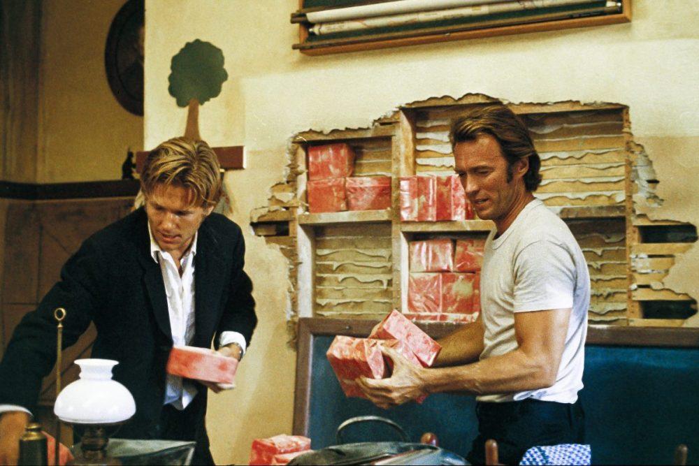 Die Letzen beissen die Hunde Clint Eastwood Jeff Bridges George Kennedy Geofrey Lewis