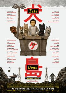 Isle Of Dogs Kinoposter