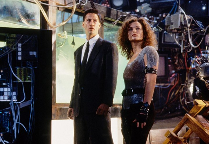 Johnny Mnemonic Keanu Reeves Diana Meyer