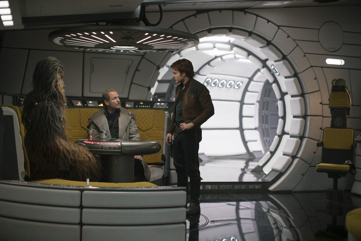 SOLO: A STAR WARS STORY Woody Harrelson Alden Ehrenreich
