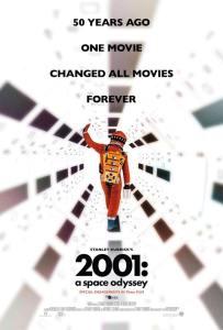 2001 A space Odyssey 50 Jahre Kinoplakat