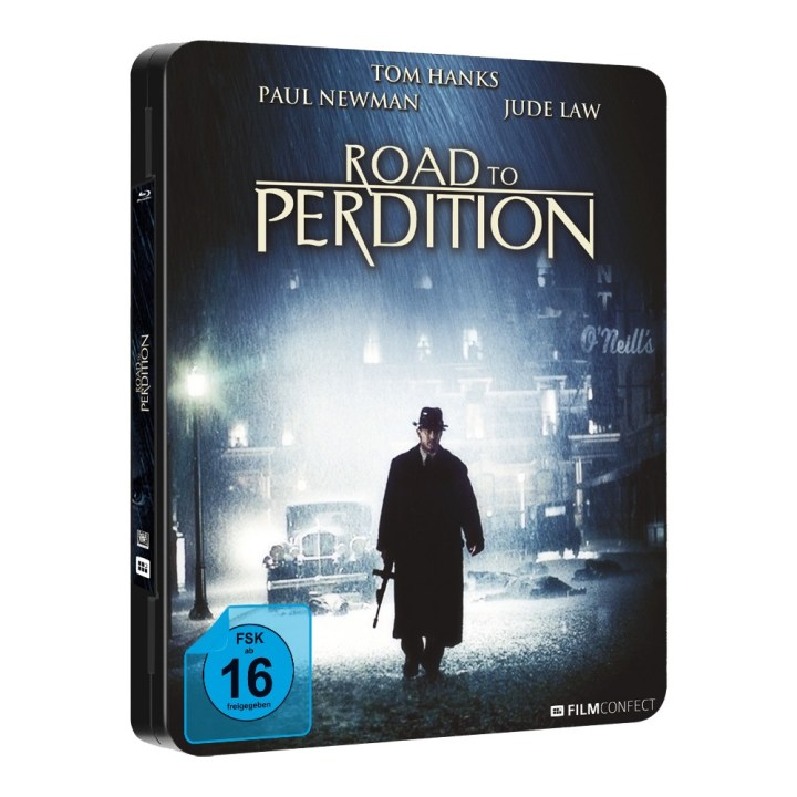 Road to Perdition blu-ray FuturePak Steel-Edition Filmconfect