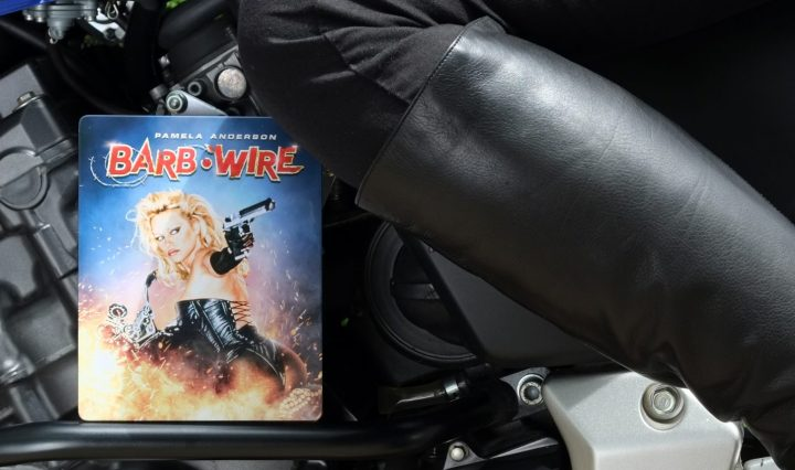 Barb Wire Steelbook Unrated Blu-ray