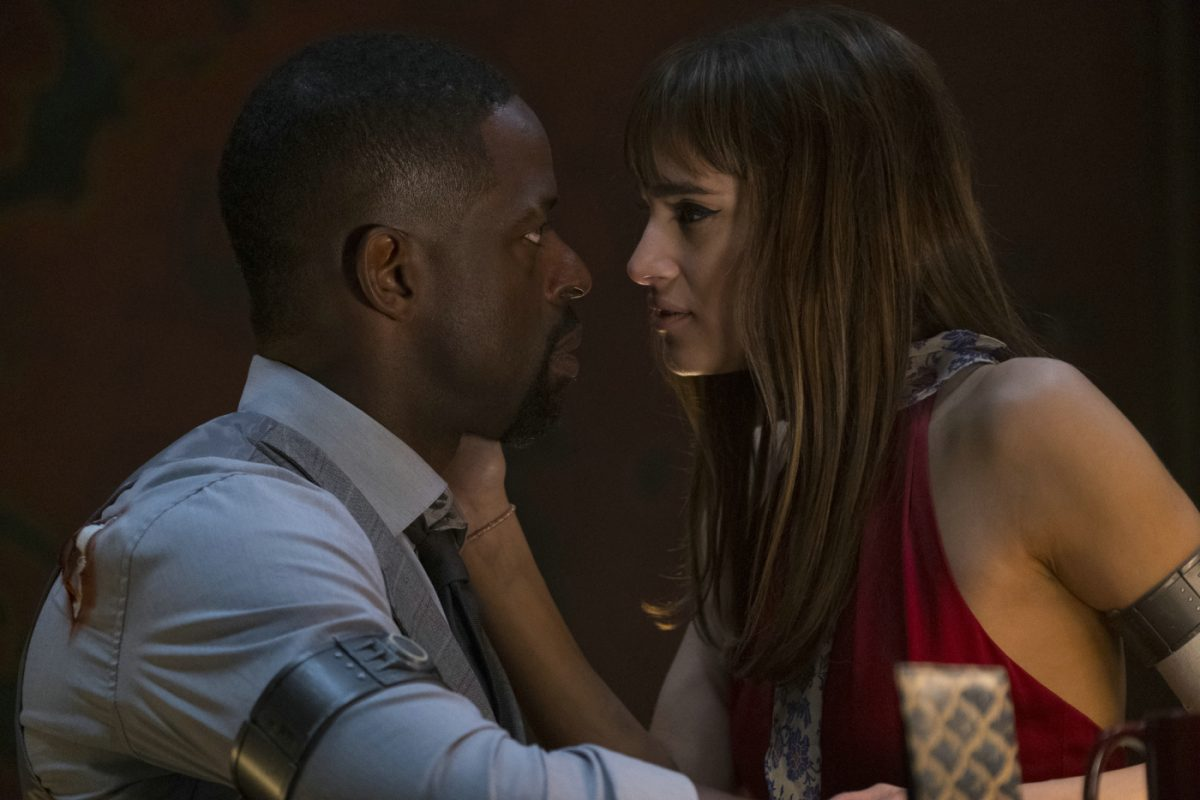 Hotel Artemis Sterling K. Brown Sofia Boutella