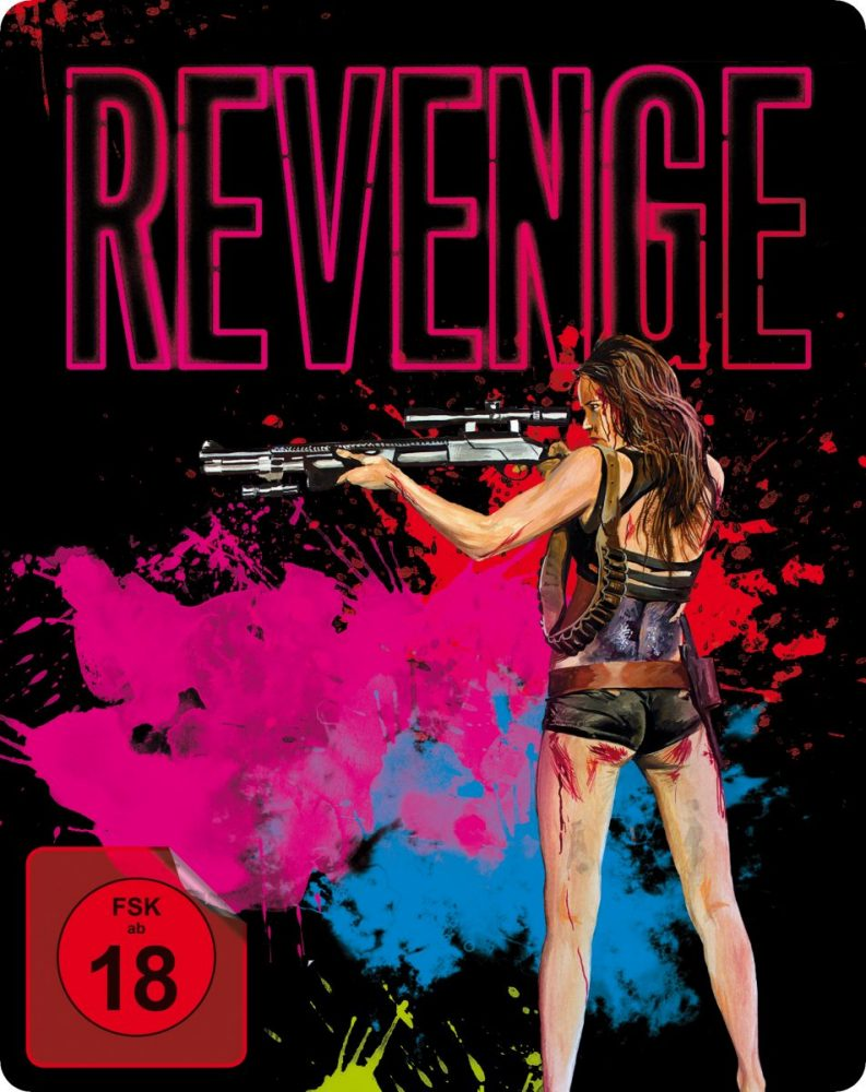 Revenge-Steelbook Cover