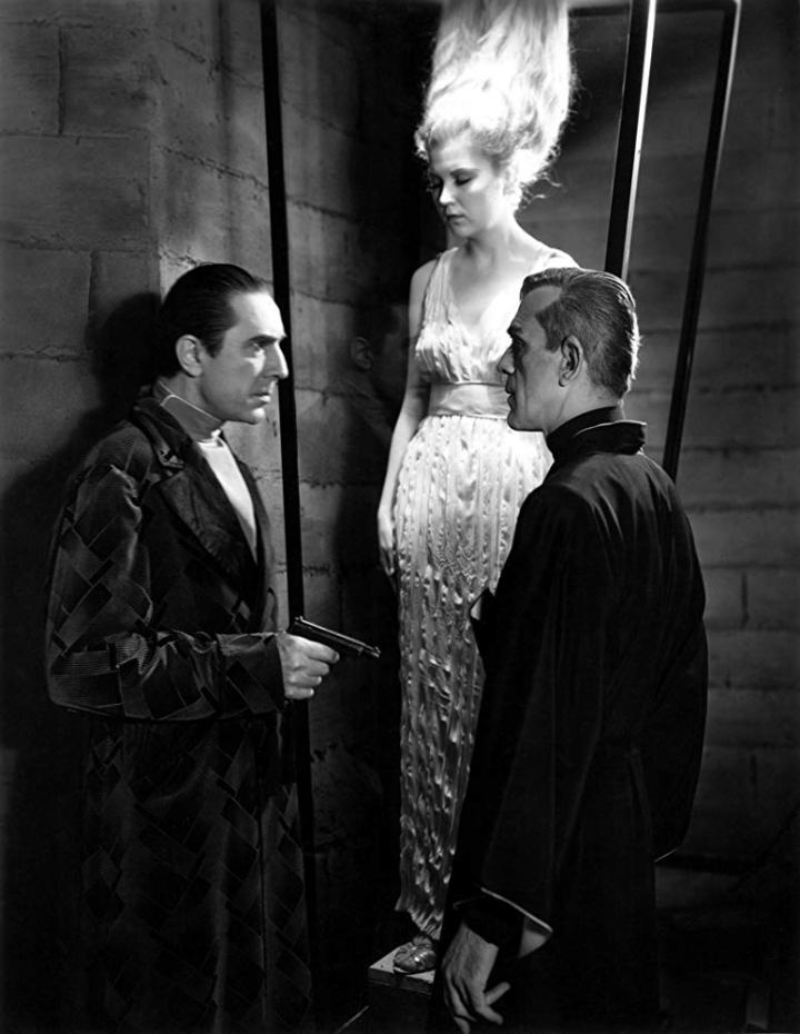 The Black Cat Boris Karloff und Bela Lugosi