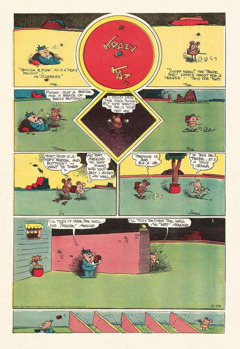 George Herrimans Krazy Kat 13