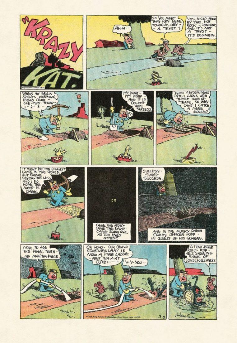 George Herrimans Krazy Kat 2