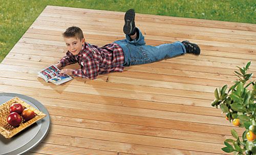 Une pose de terrasses simple, rapide et parfaite