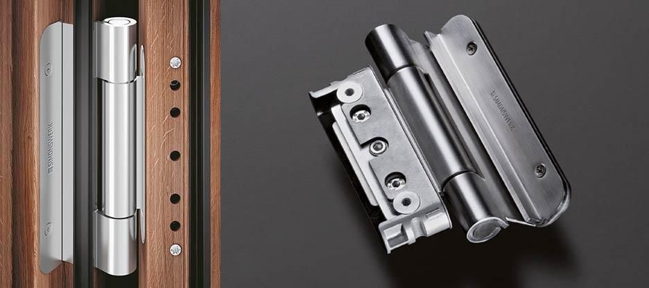 Design, stabilité et sécurité : paumelle BAKA Protect