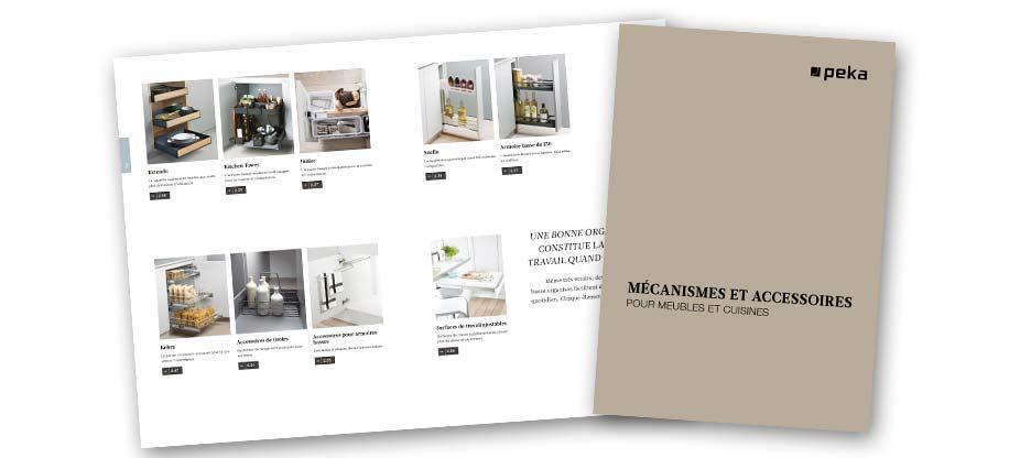 L'aménagement de la cuisine sous sa plus belle forme : la dernière version du catalogue complet de PEKA 2019 est en ligne