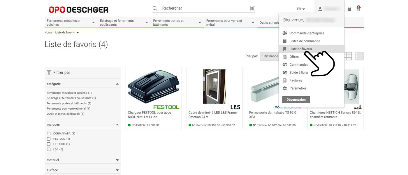 OPO Oeschger Online Shop