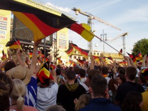Public Viewing EM 2012 Berlin