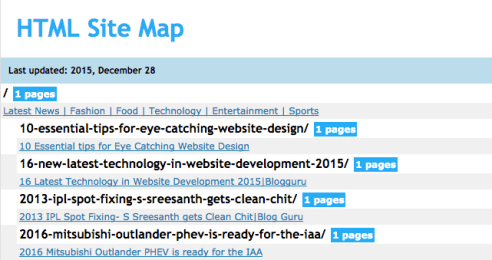 what is sitemap why sitemap is required for your website
