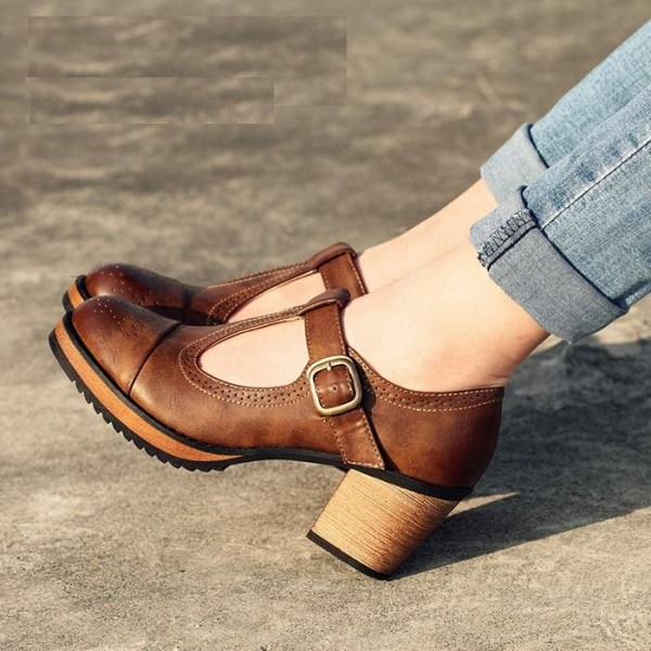 Create Your Style Statement With Trendy Block Heels