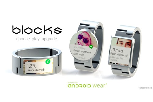 BLOCKS la smartwatch modulaire