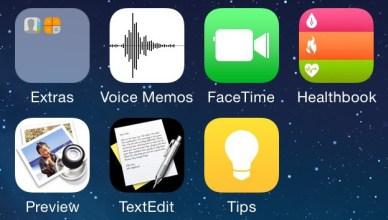 Hypothese d icones pour iOS 8
