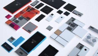 Prototype Smartphone modulable par Google le Projet Ara